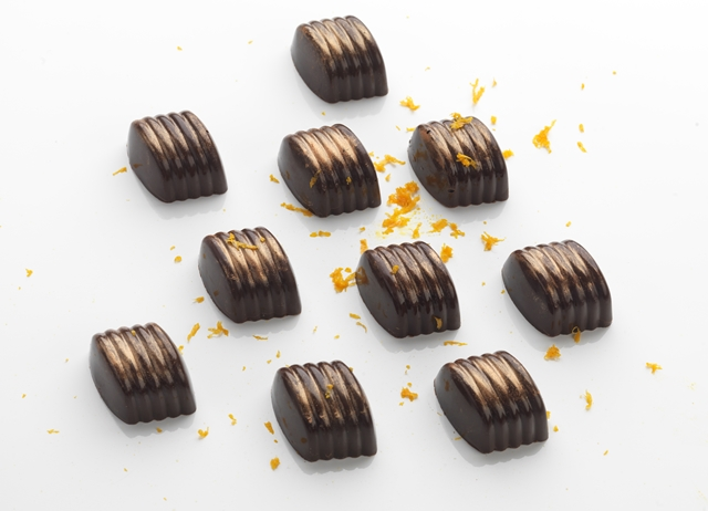 Cointreau orange chocolates