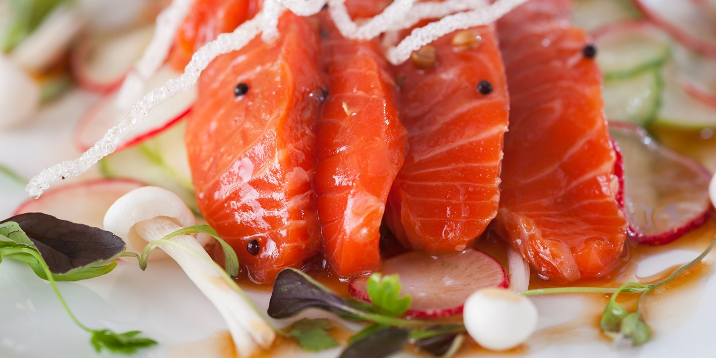 Soy-Cured Salmon Recipe - Great British Chefs