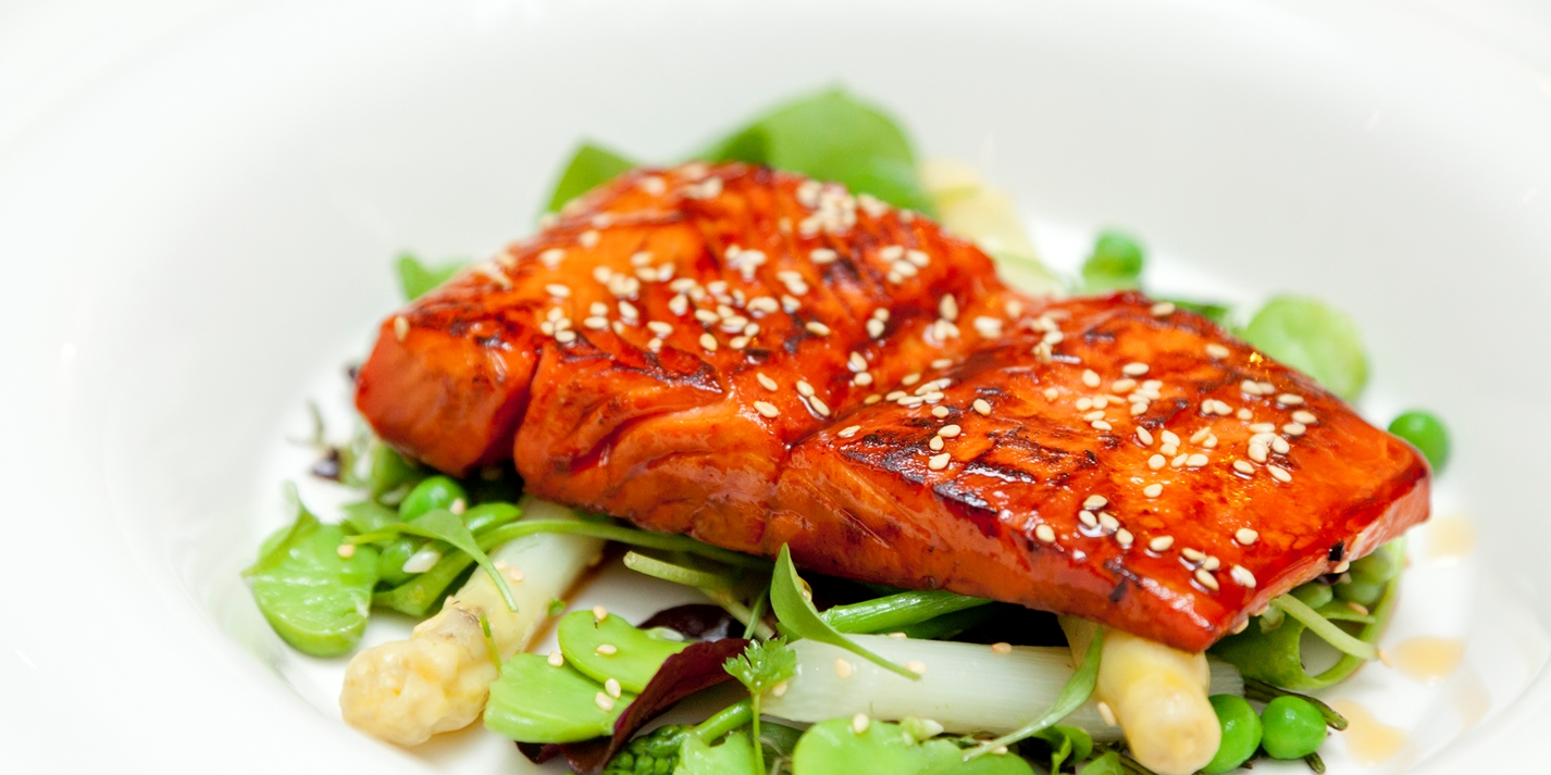Maple-Glazed Salmon Recipe - Great British Chefs