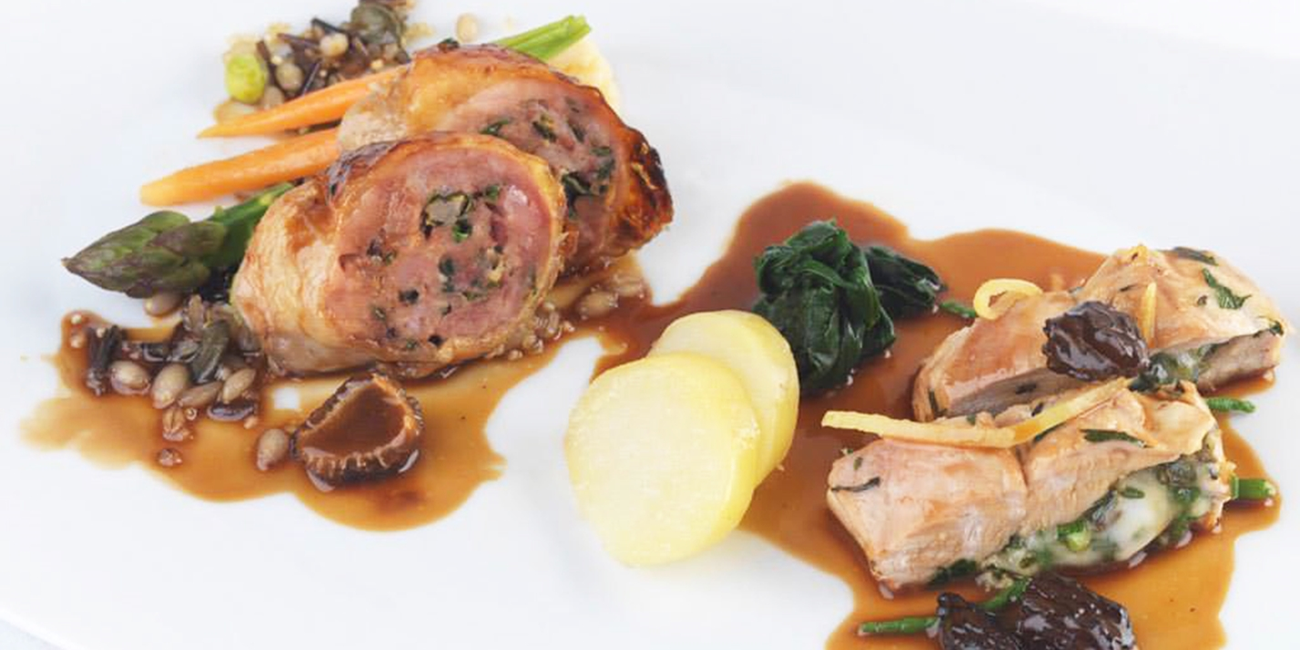 Stuffed Guinea Fowl Recipe Great British Chefs