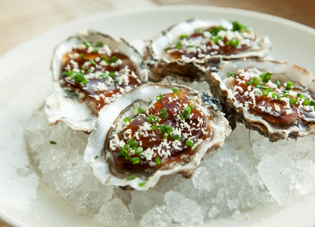 Oyster and horseradish canap recipe great british chefs for Beef horseradish canape