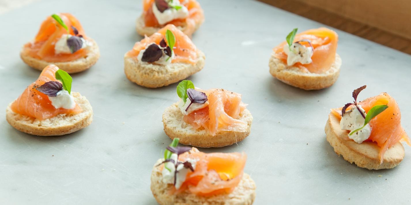 Smoked Salmon Canap 233 Recipe Great British Chefs