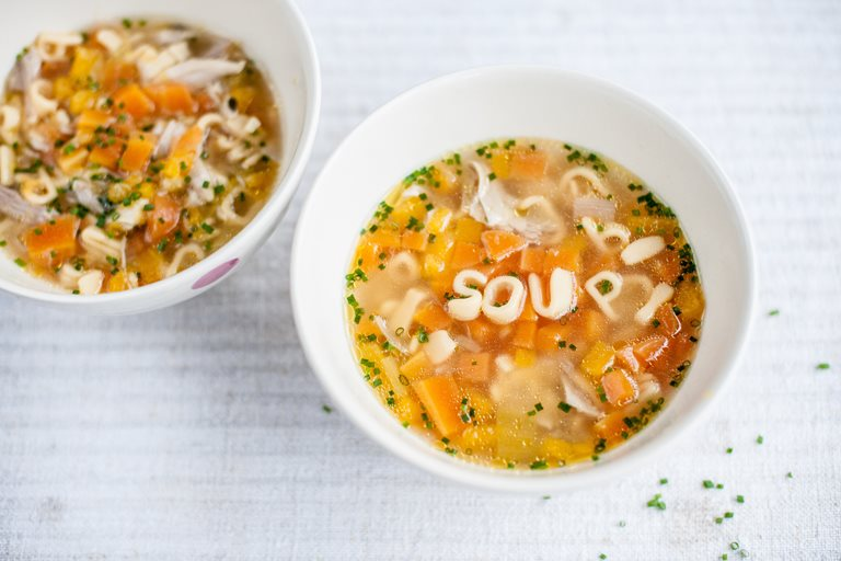 Chicken Soup Recipe Amp Pasta Kids Recipes Great British Chefs