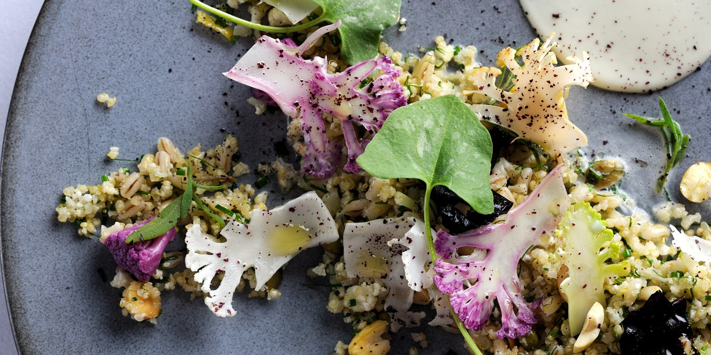 Cauliflower textures