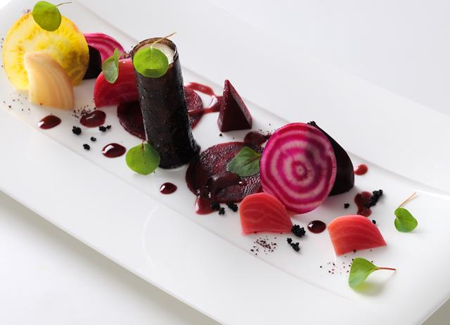 Goat's Cheese Salad Recipe With Beetroot - Great British Chefs