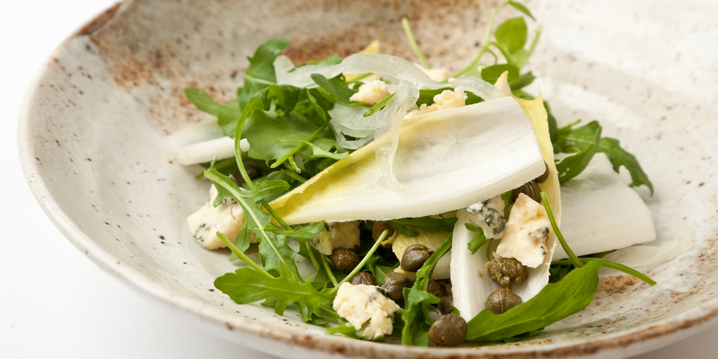 Stilton and chicory salad