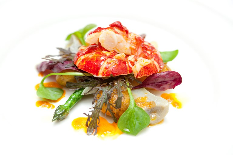 Warm Lobster Salad Recipe - Great British Chefs