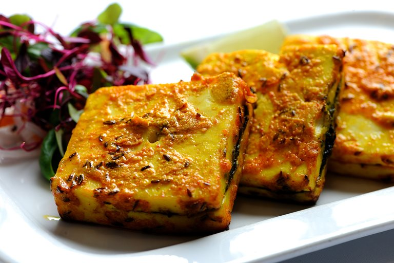 Bharwan Grilled Paneer Recipe Great British Chefs