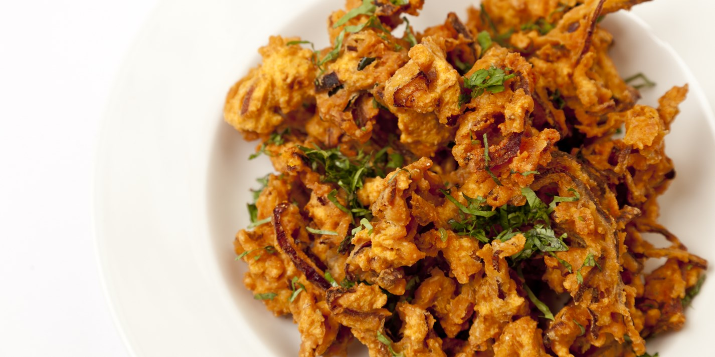 How to make an onion bhaji