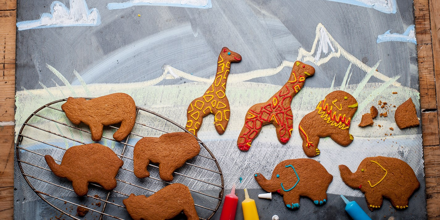 Gingerbread safari park