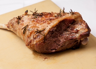 How to cook a leg of lamb