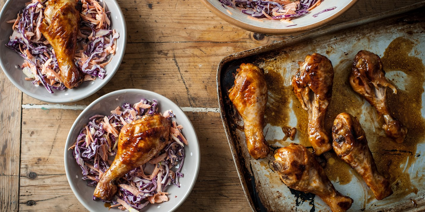 Chicken and coleslaw recipe
