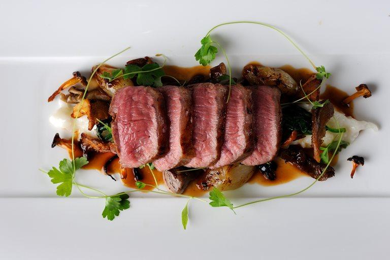 Lamb Loin Recipe With Parmesan Risotto Great British Chefs