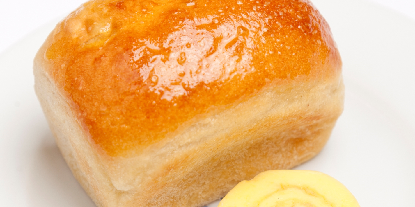 Potato bread with Guernsey butter