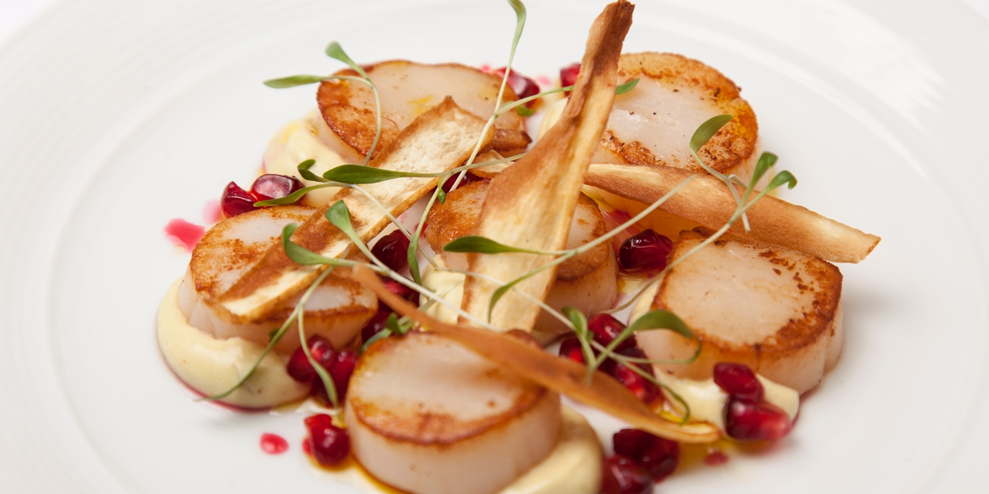 Christmas starters recipes great british chefs for Christmas fish starters