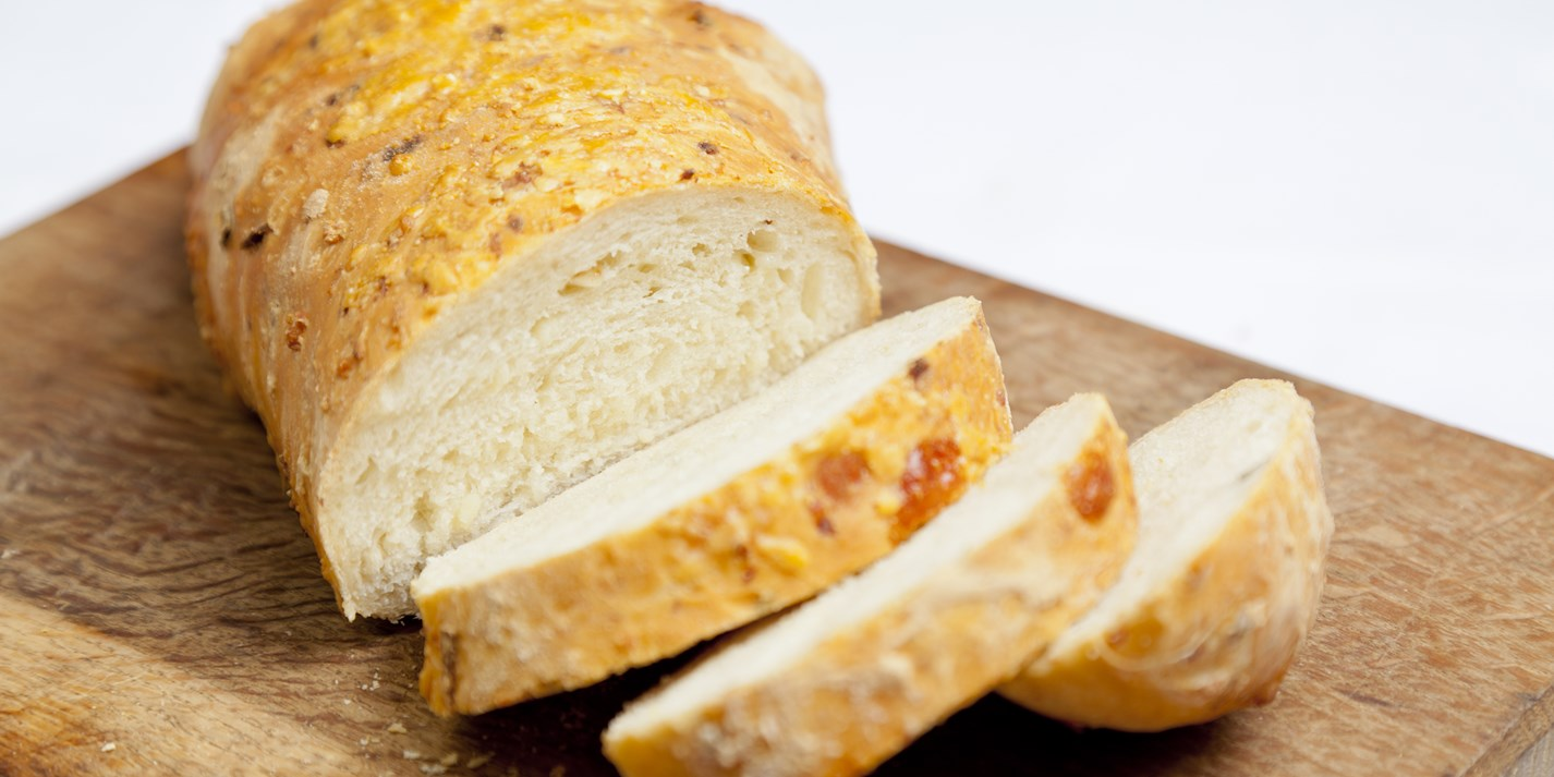 Parsnip, Parmesan and sage bread