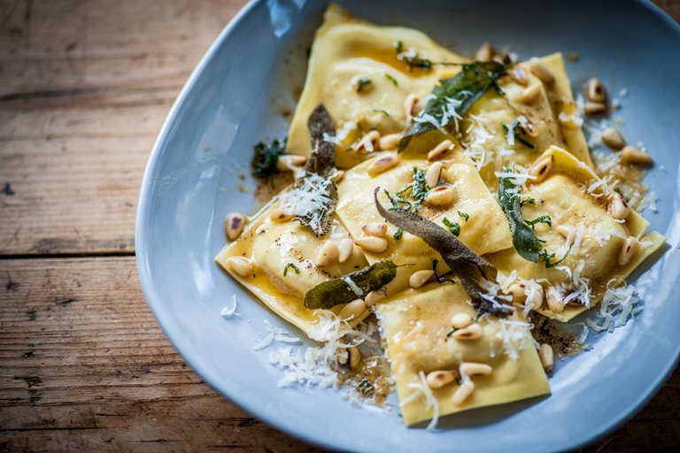 Turkey Ravioli Recipe Great British Chefs