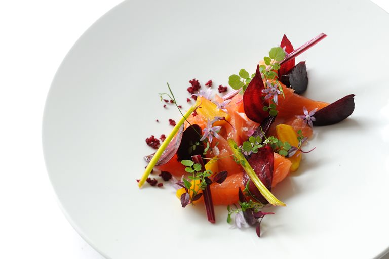 Salmon Mi Cuit Recipe With Beetroots Great British Chefs Watermelon Wallpaper Rainbow Find Free HD for Desktop [freshlhys.tk]