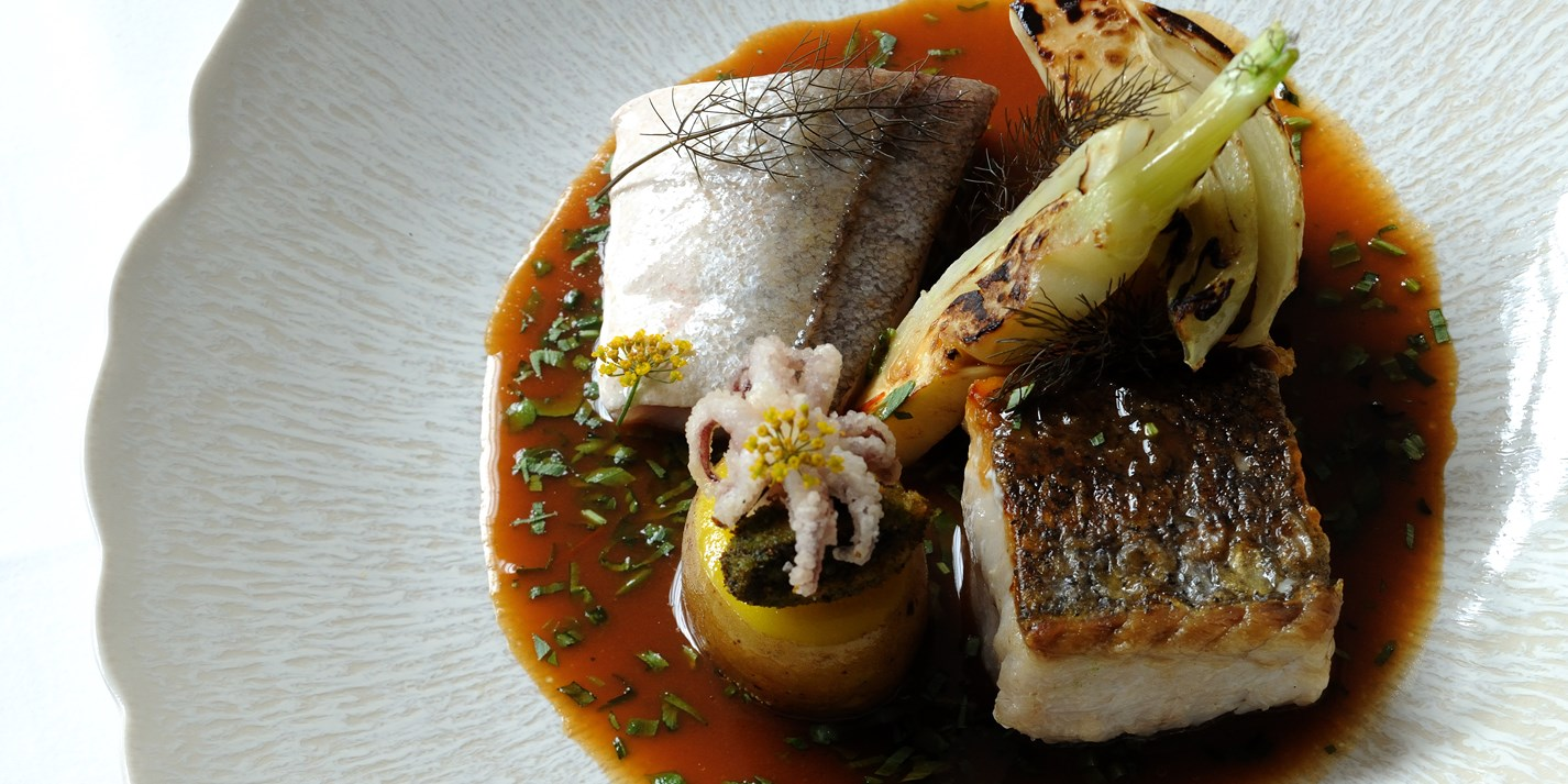How to pan-fry hake on the bone