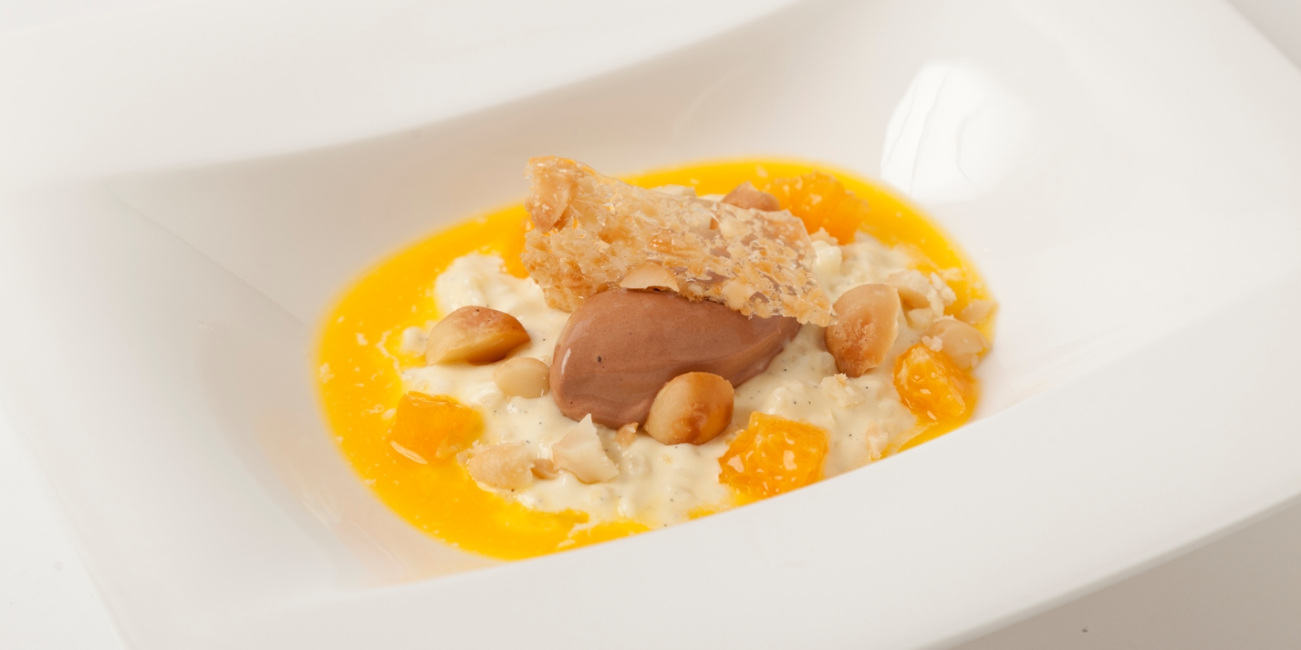 Rice Pudding Recipe With Chocolate Sorbet - Great British Chefs