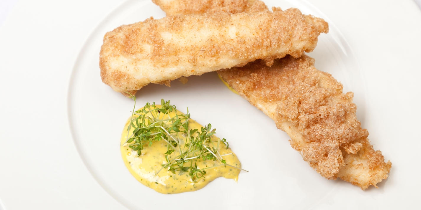 Plaice with homemade tartare sauce