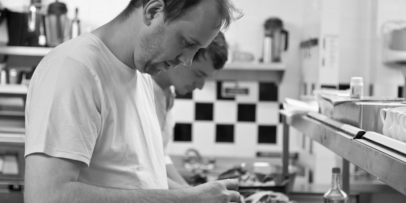 Mark Poynton, chef at Alimentum