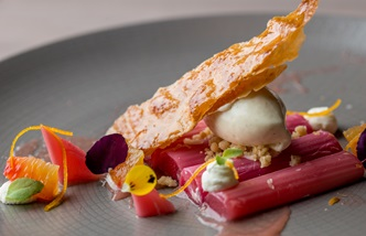 How to poach rhubarb