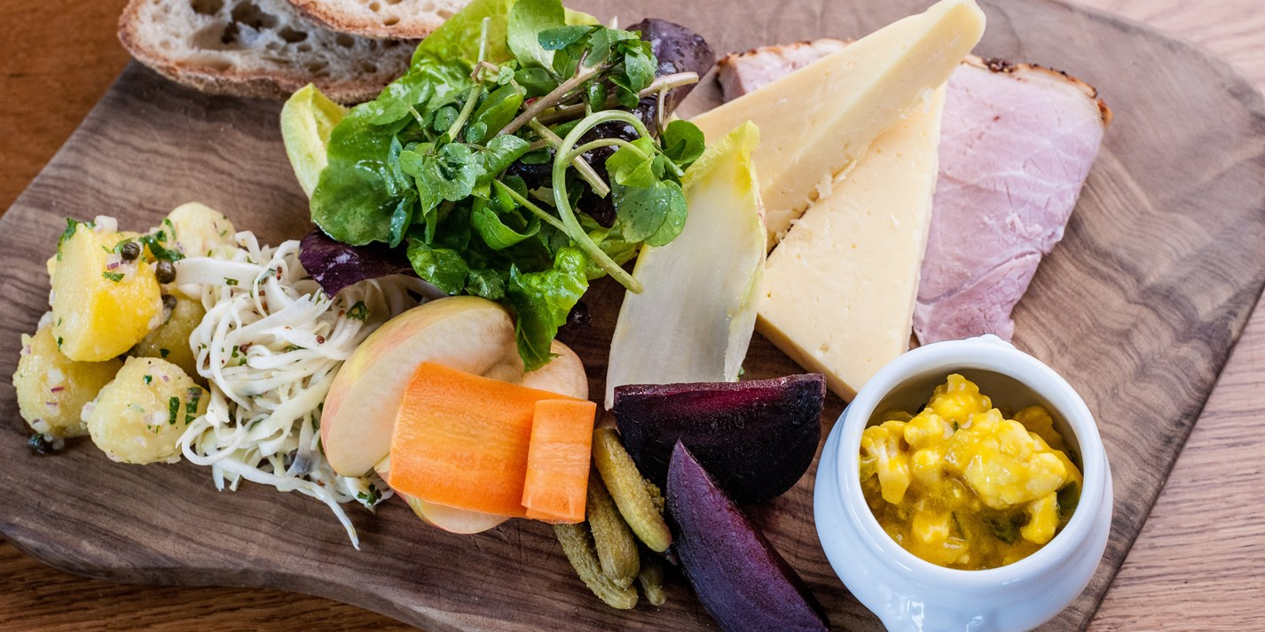 A perfect Cornish ploughman's lunch