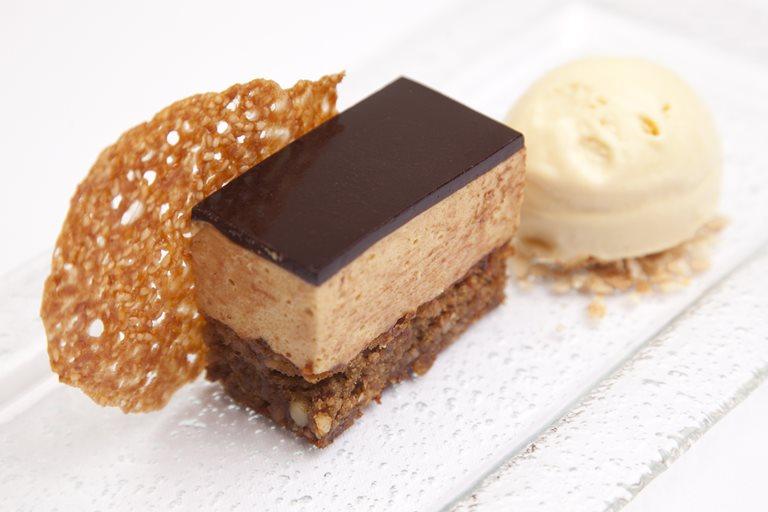 Black Sesame Seed Chocolate Cake