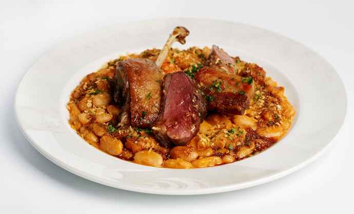 Duck cassoulet à la maison recipe