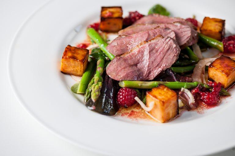 Duck Breast Salad Recipe Great British Chefs