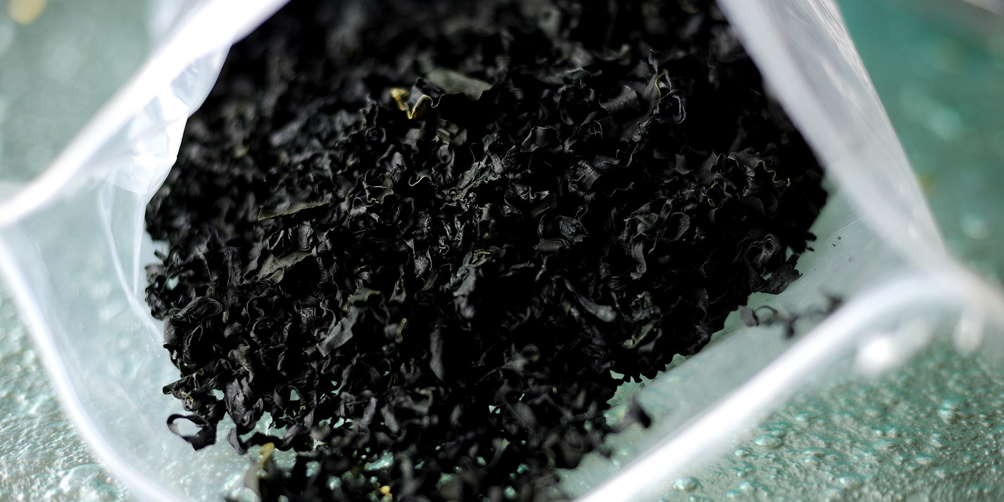 How to deep-fry seaweed