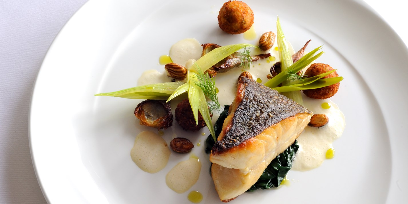 Turbot Fennel Croquettes Amp Pernod Velout 233 Great British