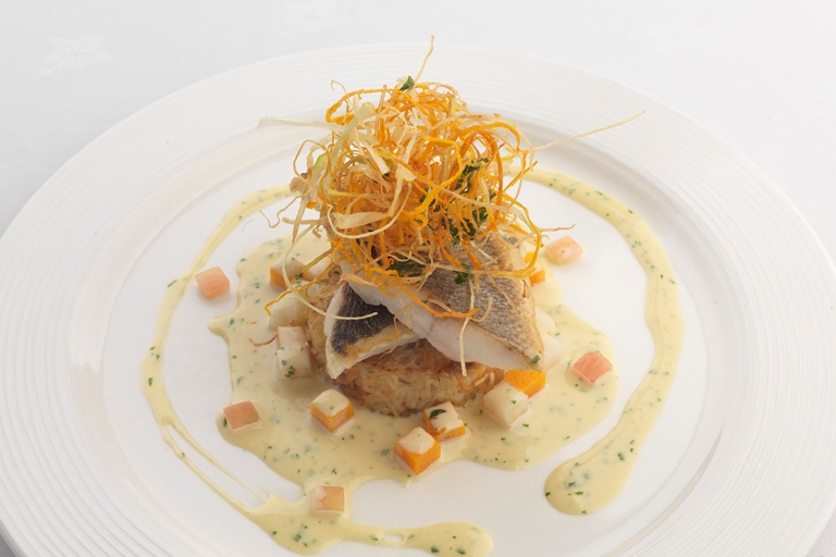 Sea Bass Fillet With Coriander Amp Vanilla Sauce Great