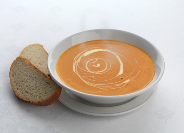 Roasted vine tomato soup