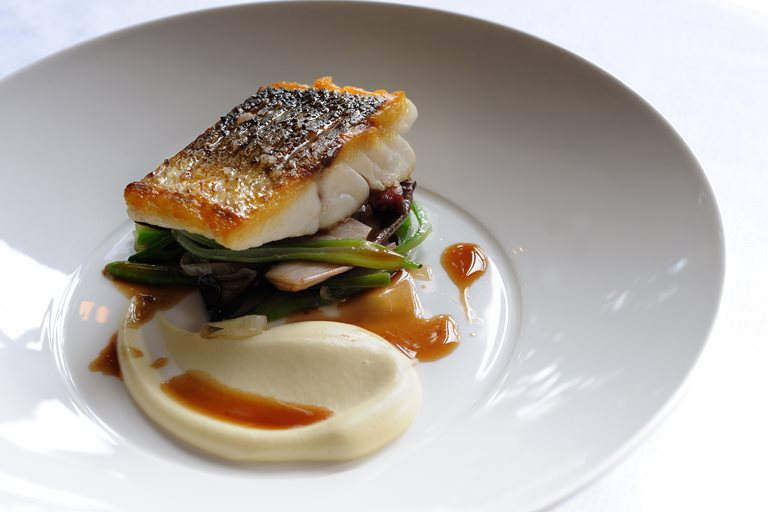 Sea Bass Recipe With Smoked Bacon Amp Chicory Great
