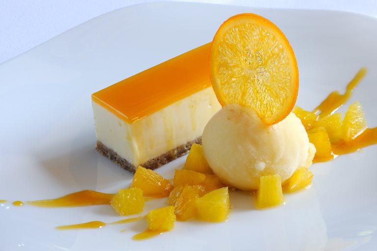 Passion Fruit Amp White Chocolate Cheesecake Great British