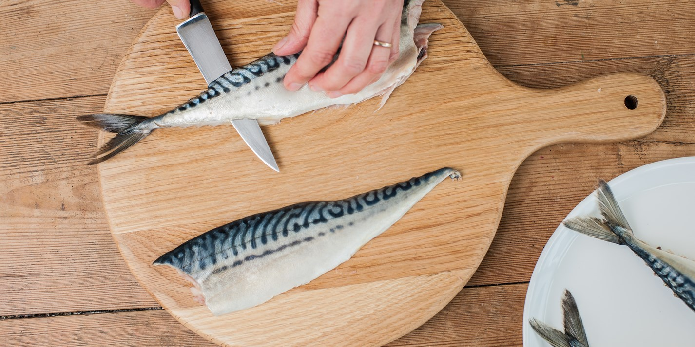 How to fillet a mackerel