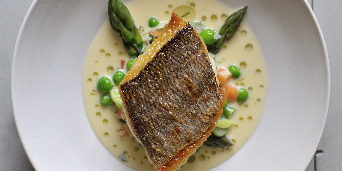 Bream Recipe With Mustard & Tarragon Sauce - Great British ...