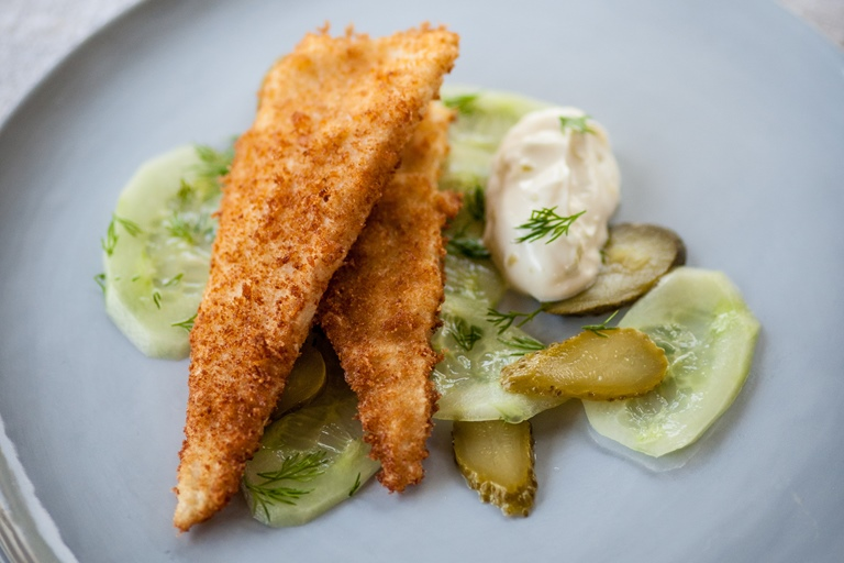deep fried lemon sole recipe great british chefs