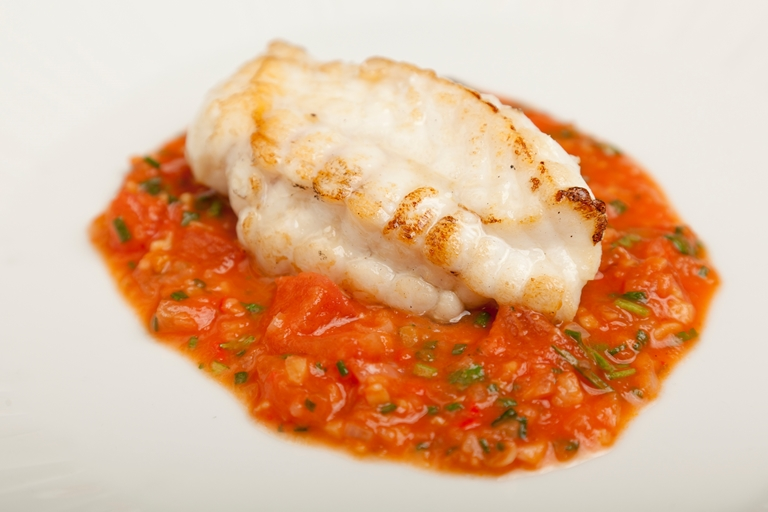 Monkfish Recipe With Tomato Ginger Amp Garlic Great