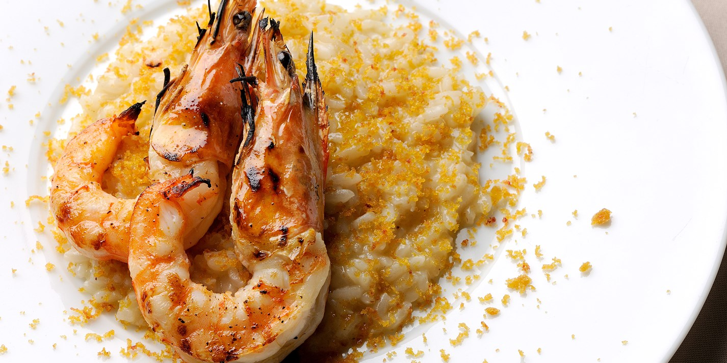 How to grill prawns