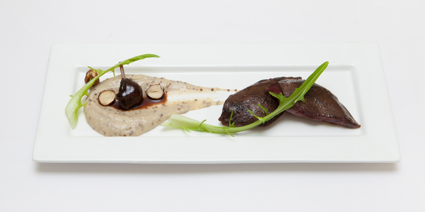 Wild pigeon and Jerusalem artichoke