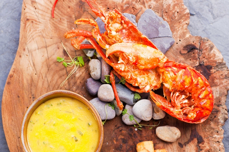 Lobster Recipe With Triple-Cooked Chips - Great British Chefs