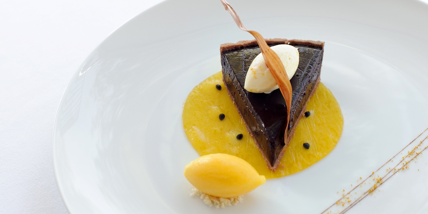 Amedei chocolate tart
