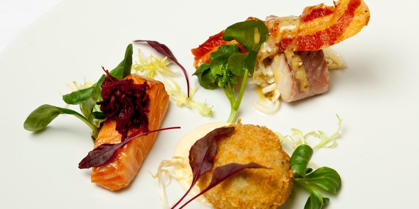 Smoked fish platter recipe great british chefs for How to smoke fish