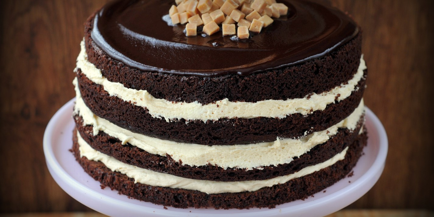 Salted caramel chocolate fudge cake recipe
