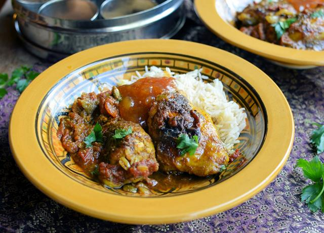 Gurkha chicken cardamom curry