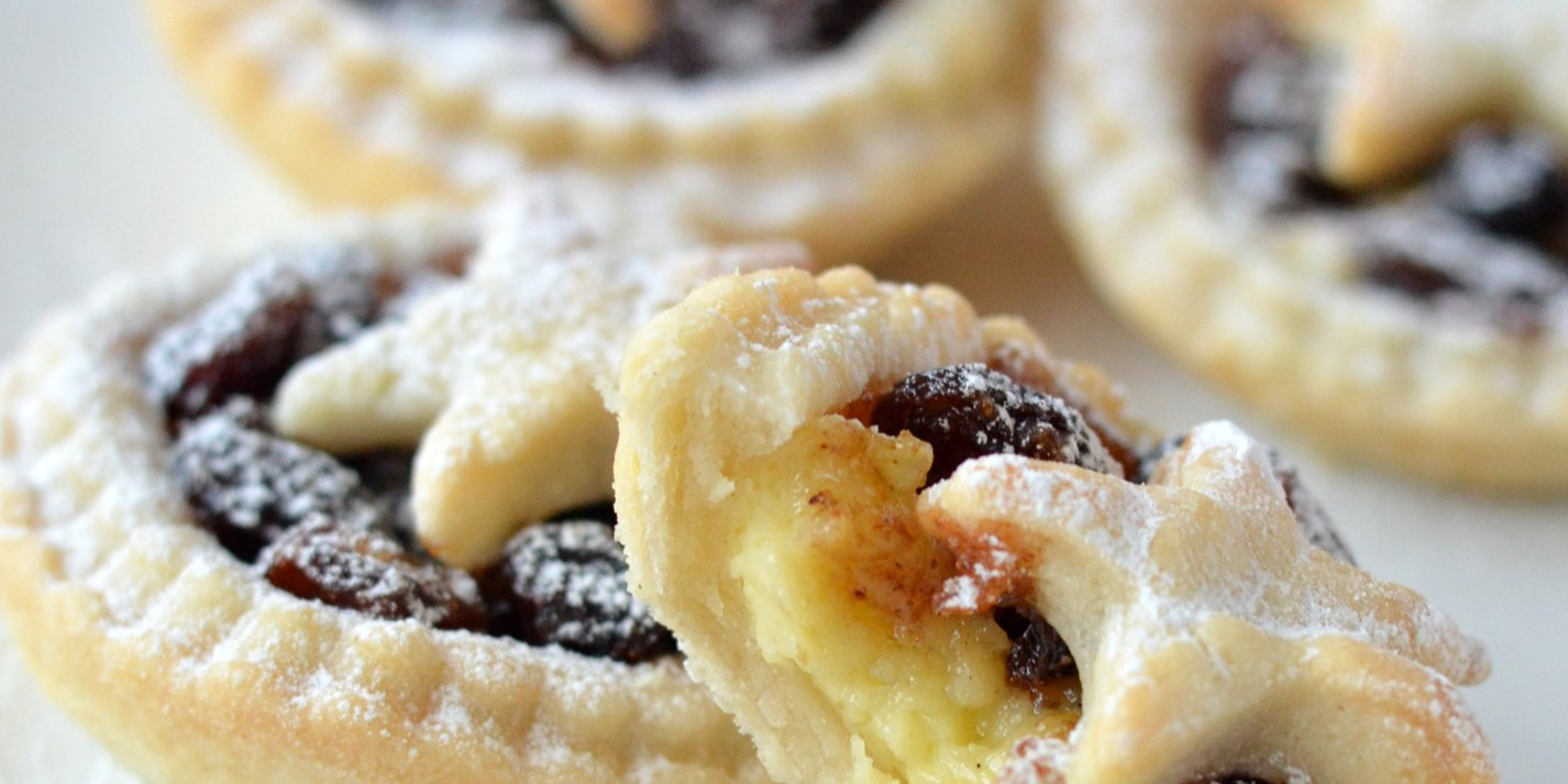 Mincemeat and custard pies