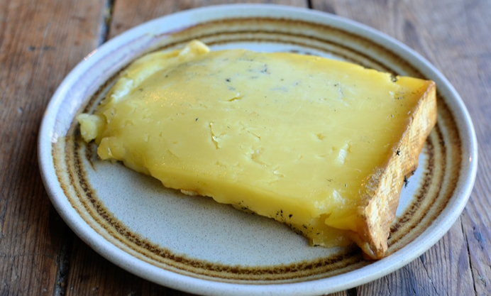 Take the cheese out at least one hour before serving